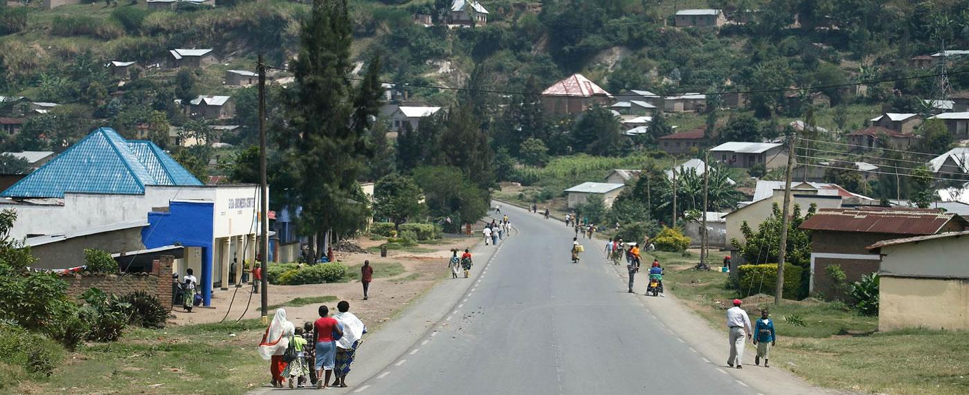road to gisenyi Rwanda