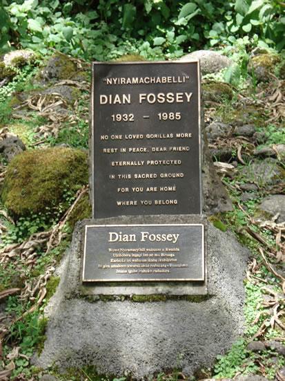 Dian Fossey Grave Site