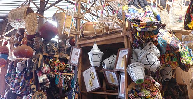 Souvenir Shopping in Kigali - Kimironko Market