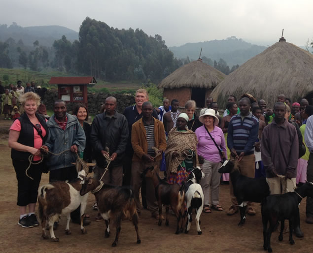 A Goat Can Save a Gorilla - Iby'Iwacu Cultural Village Experience