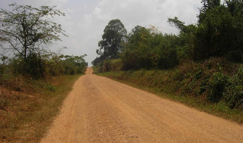 Murram Roads in Uganda