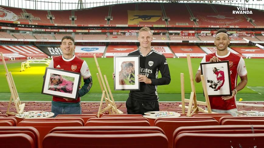 Arsenal Stars Name Rwanda Gorillas